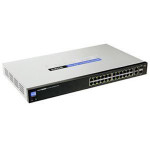 Cisco SLM224G 24-Port 10/100 + 2 Port Gigabit Smart Switch: SFPs