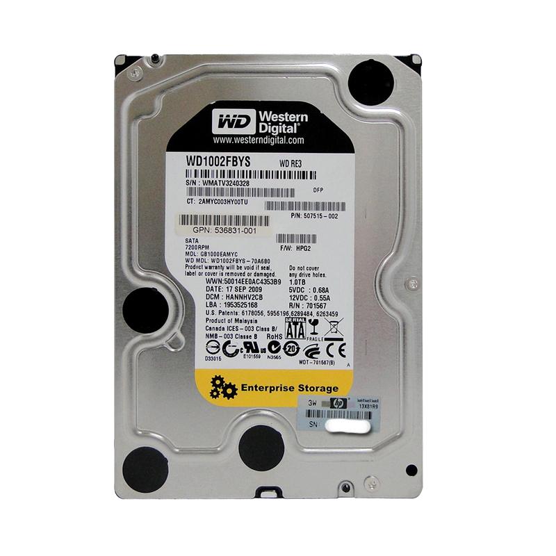 HDD 1TB SATA 3,5″ WD1002FBYS