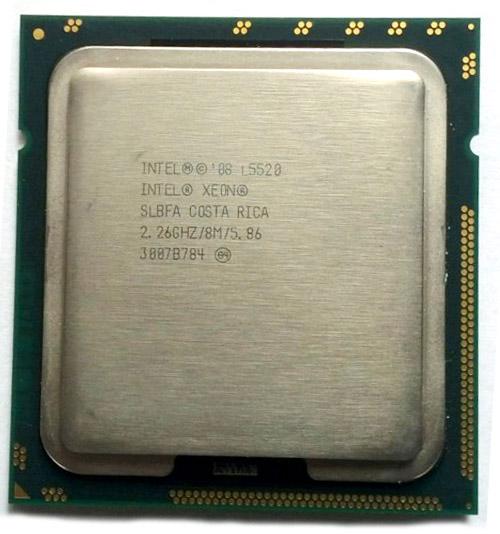 CPU Intel Xeon L5520 Quad Core 2.26GHz